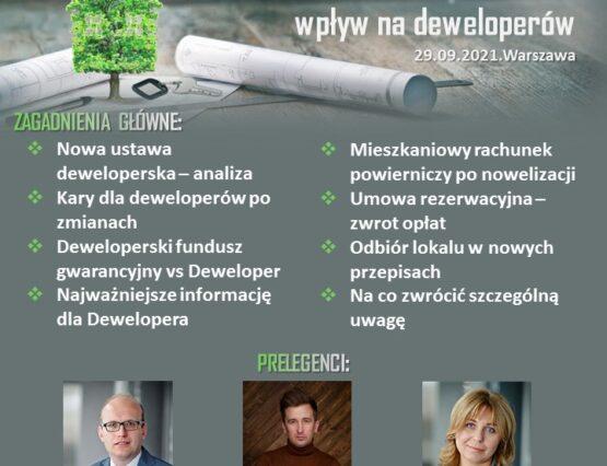 nowa ustawa deweloperska 29.09 zdjęcie na główną